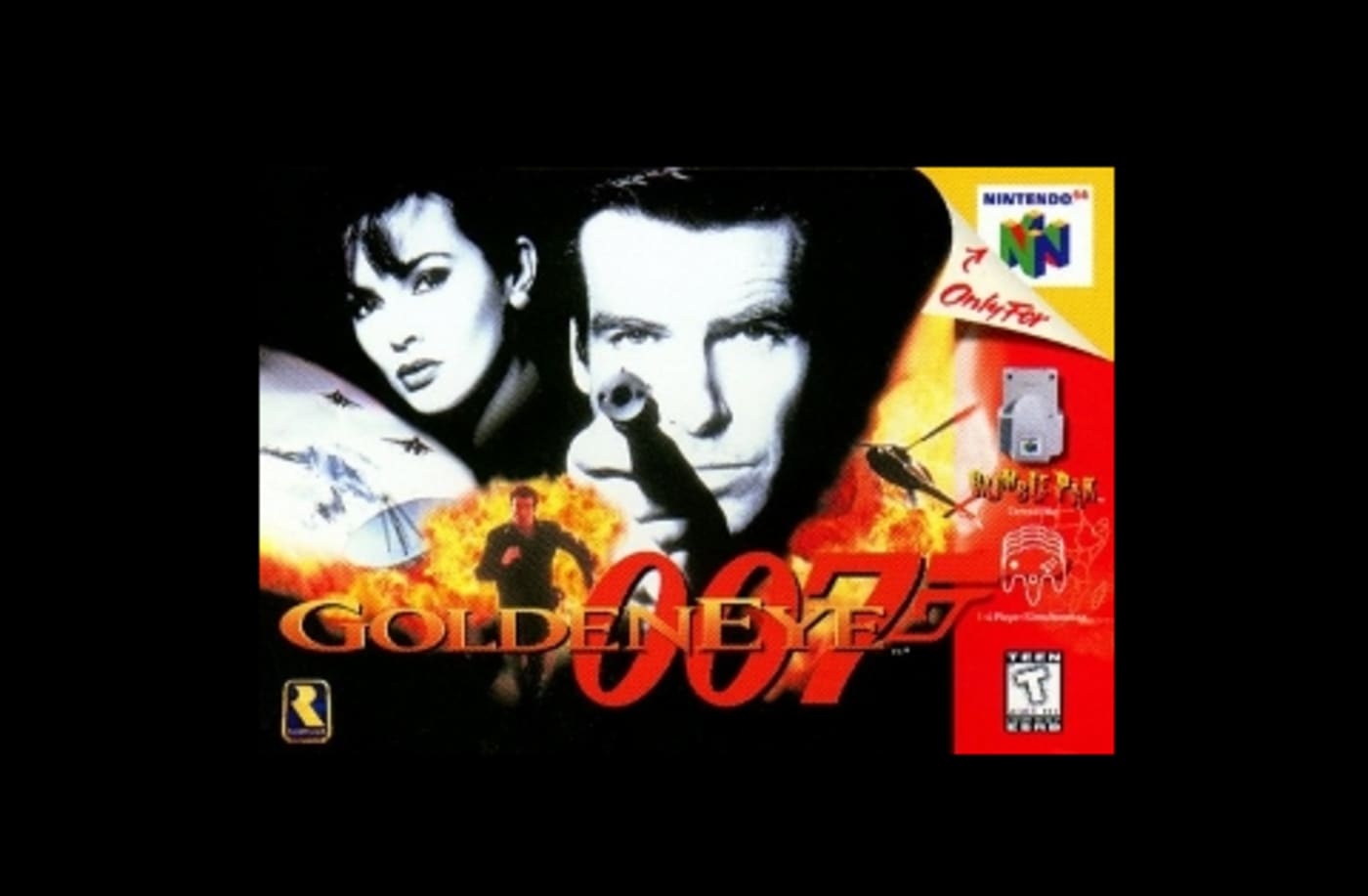 first person shooter game golden eye 007