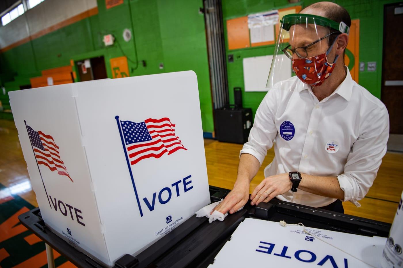 ballot box coronavirus