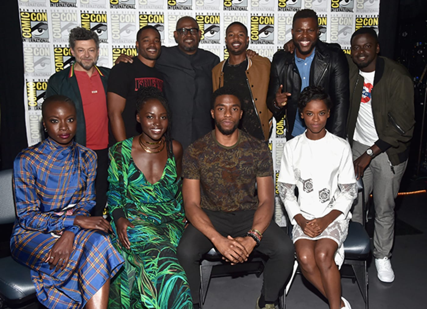 The Cast of 'Black Panther' at San Diego Comic Con 2017
