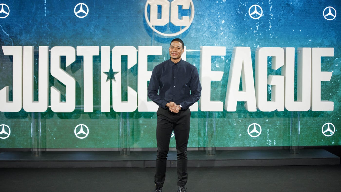Justice League's Ray Fisher