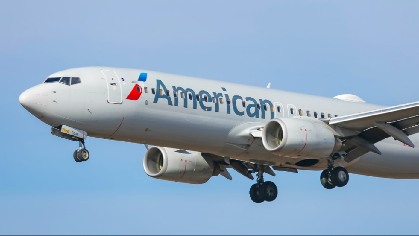 American Airlines Boeing 737 800 aircraft