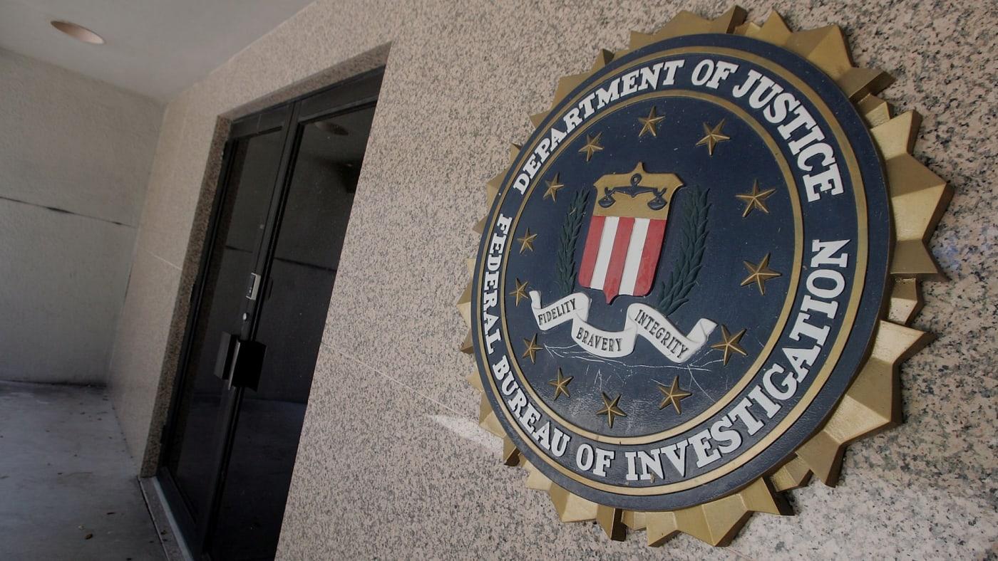 The FBI building.