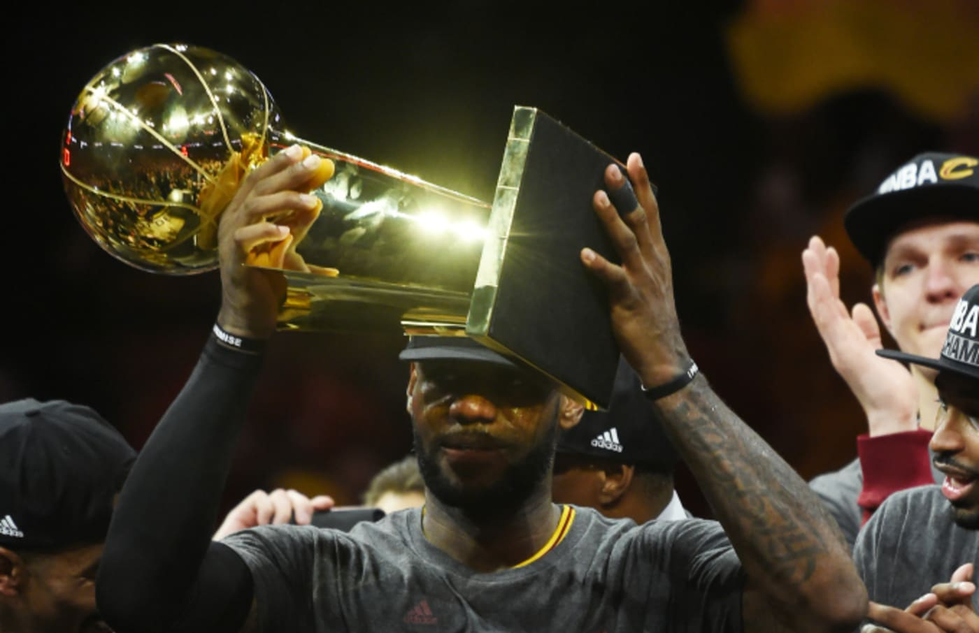 LeBron James #23 and the Cleveland Cavaliers