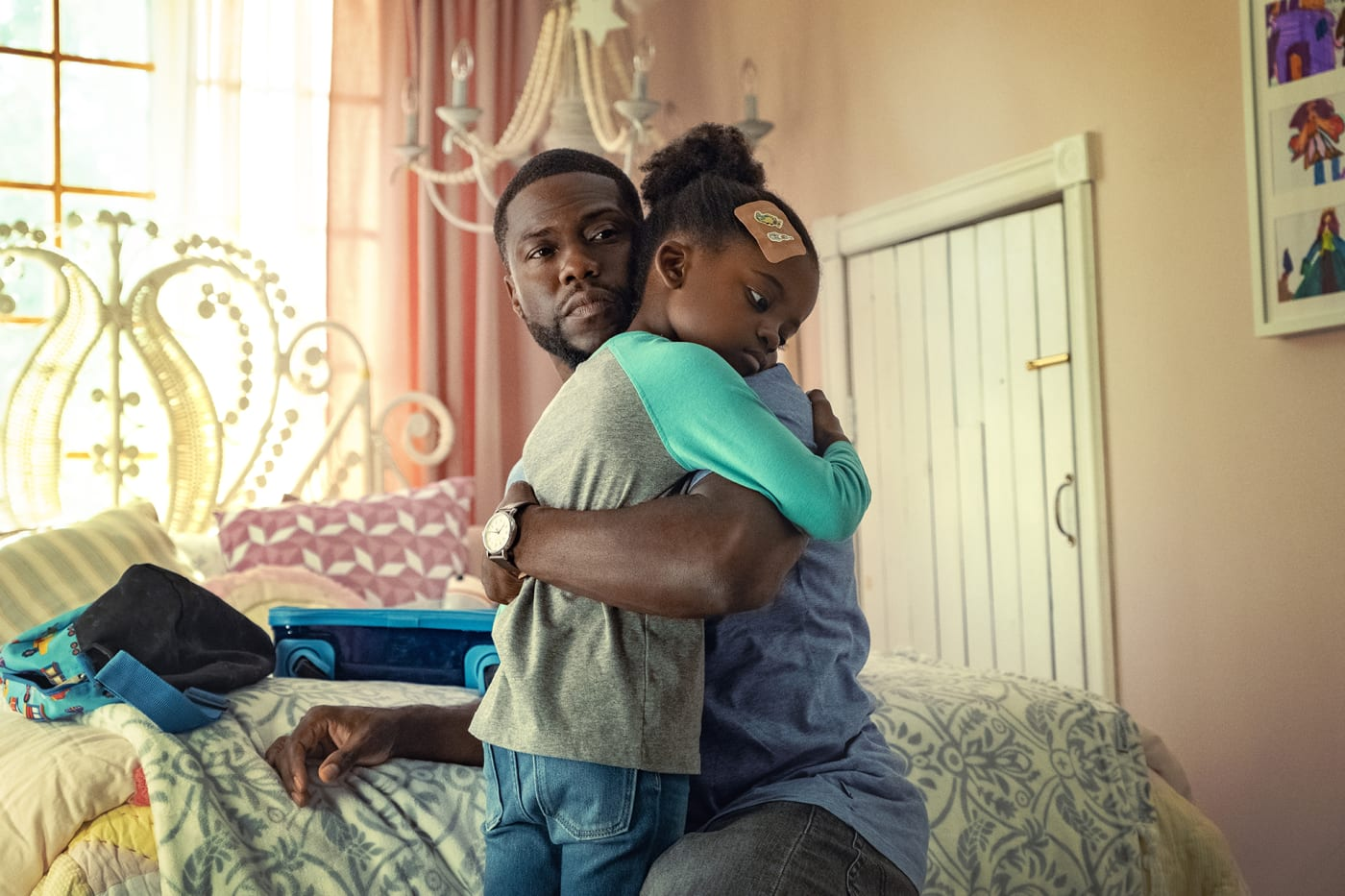 Kevin Hart, Melody Hurd, 'Fatherhood' Netflix series
