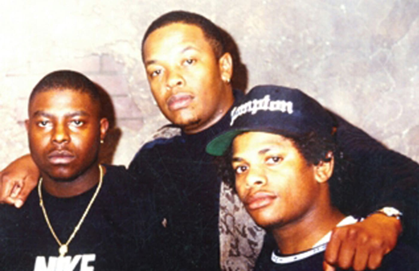 gregory hutchinson with dr dre eazy e