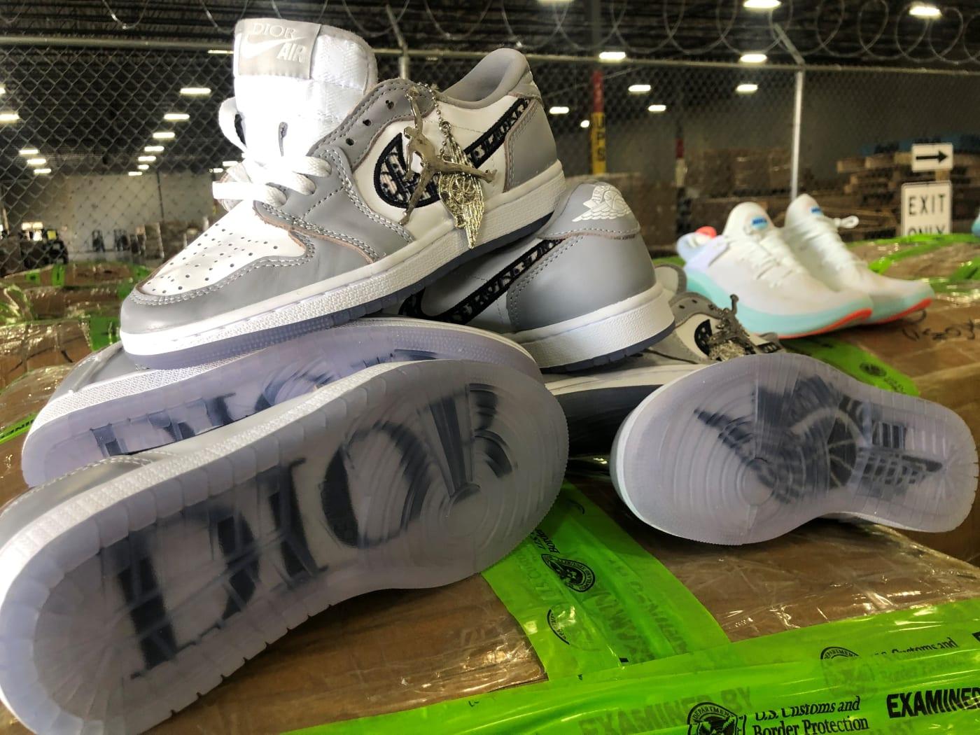 Counterfeit Dior Air Jordan Sneakers