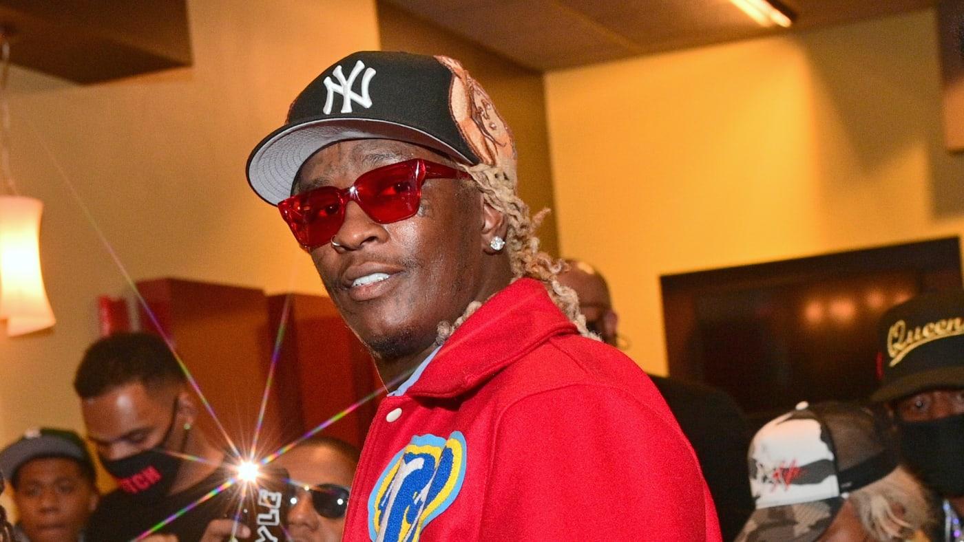 "Young Thug attends ""Dutch"" Atlanta Premiere"