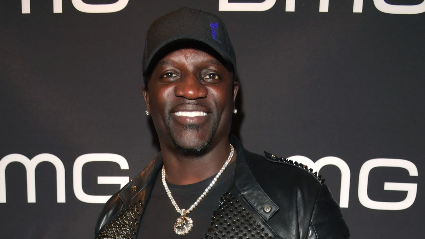 Akon attends the BMG Pre Grammy Party 2020 at Troubadour