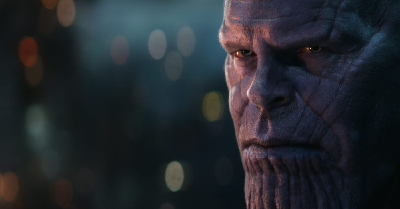 Thanos in 'Avengers: Infinity War'