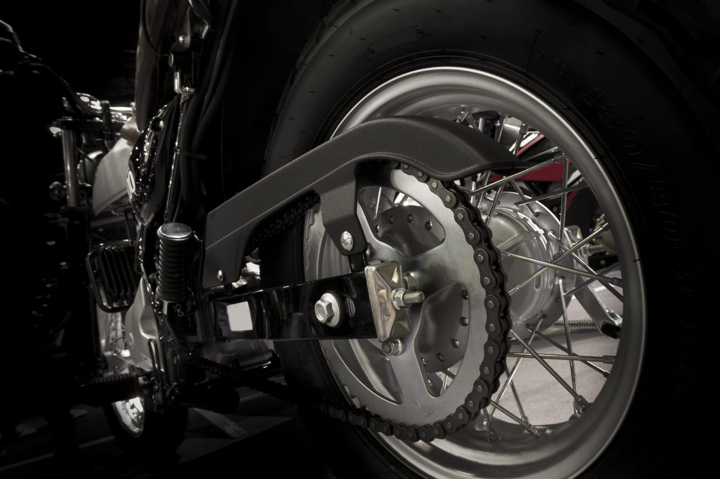 motorcycle back chain