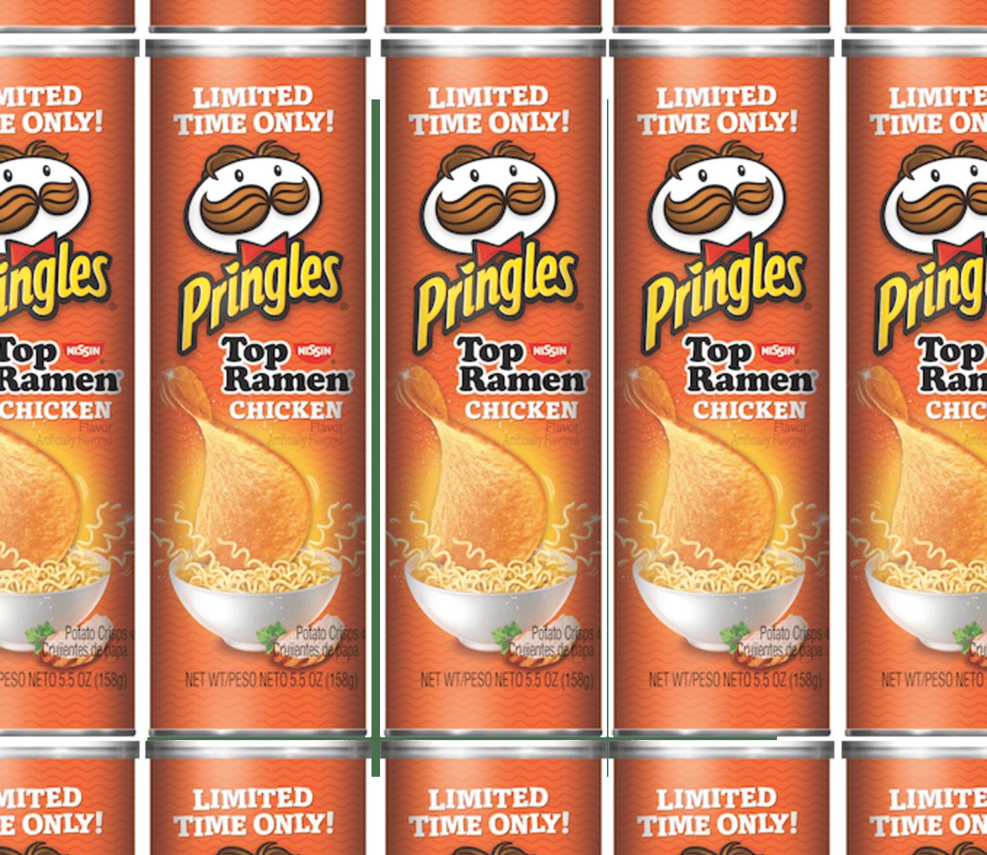 Pringles Top Ramen Flavor