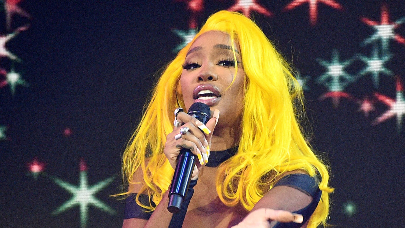 SZA performs onstage for the 2021 Billboard Music Awards