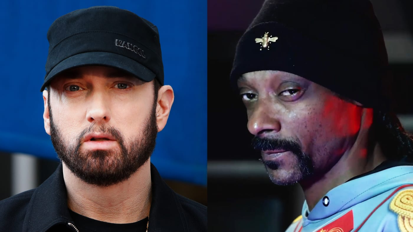 Eminem and Snoop Dogg beef