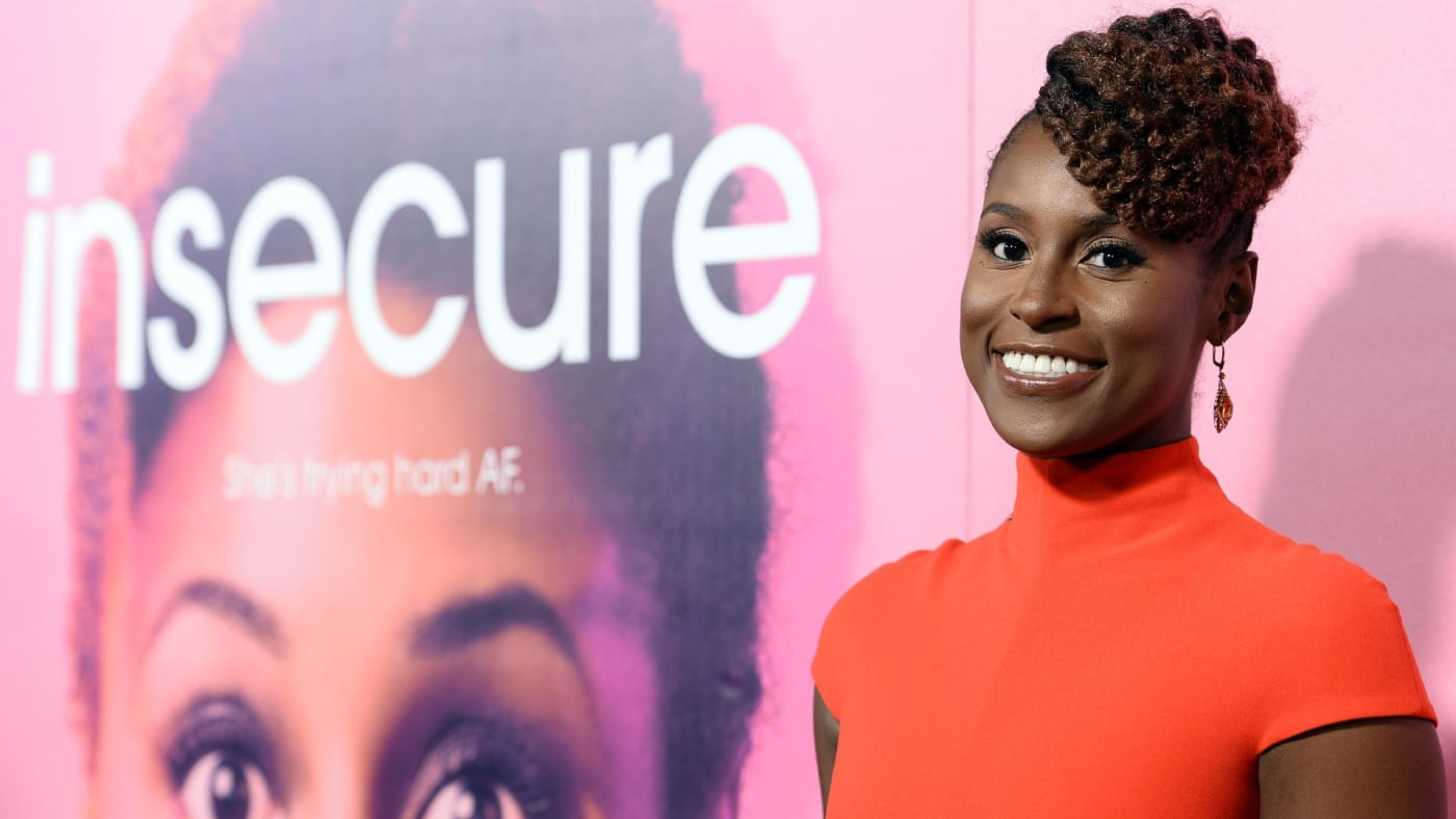 Issa Rae arrives at 'Insecure' premiere