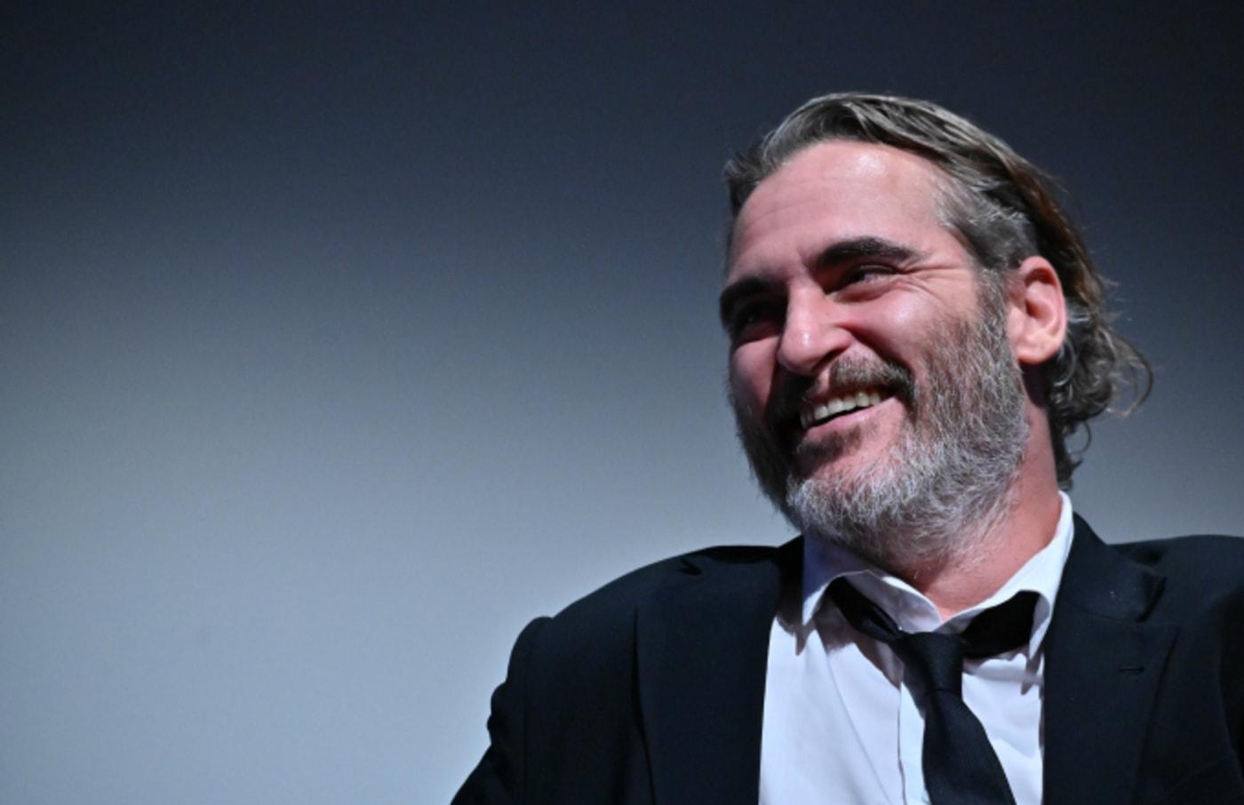 Joaquin Phoenix attends the 57th New York Film Festival