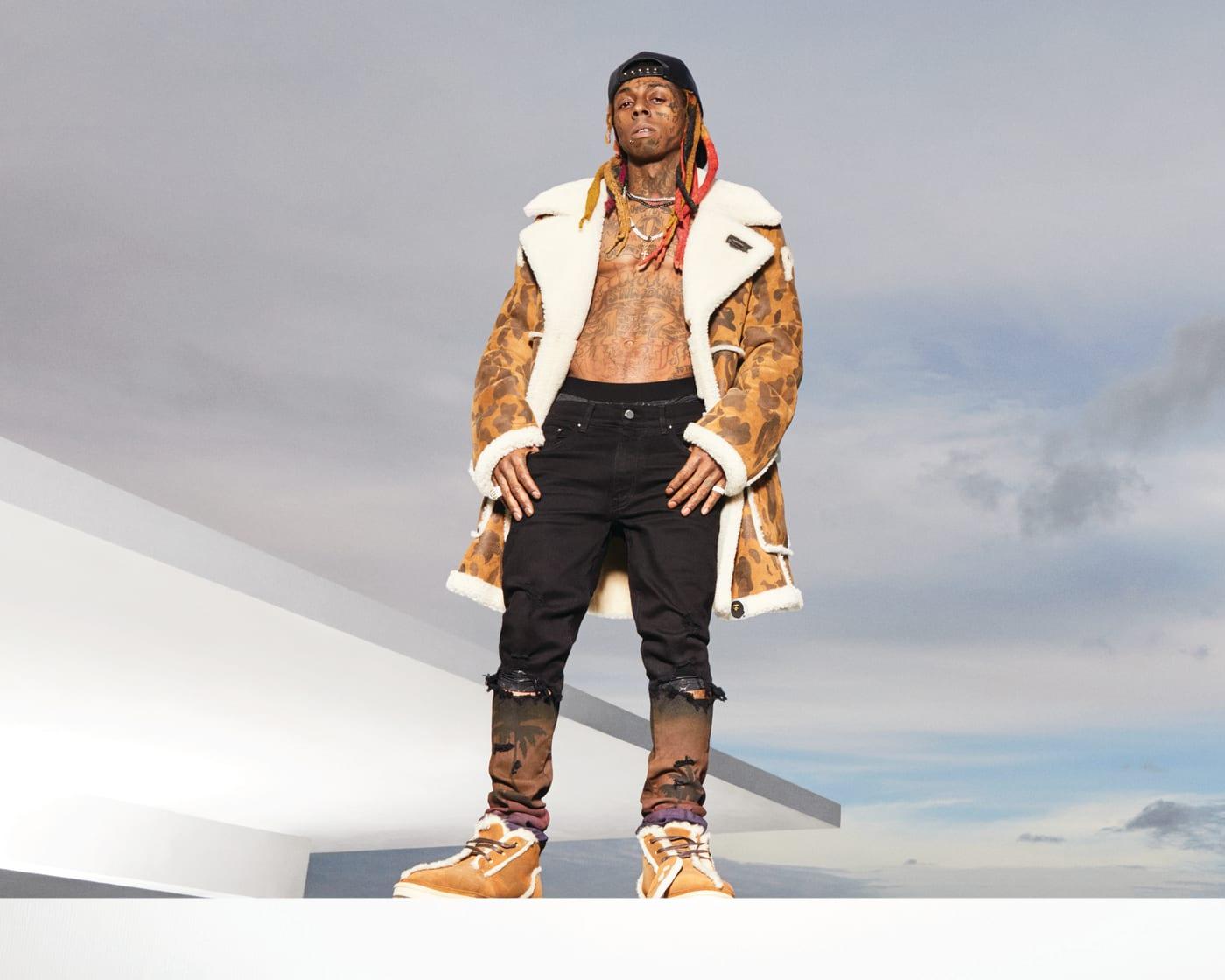 Lil Wayne in Bape x UGG