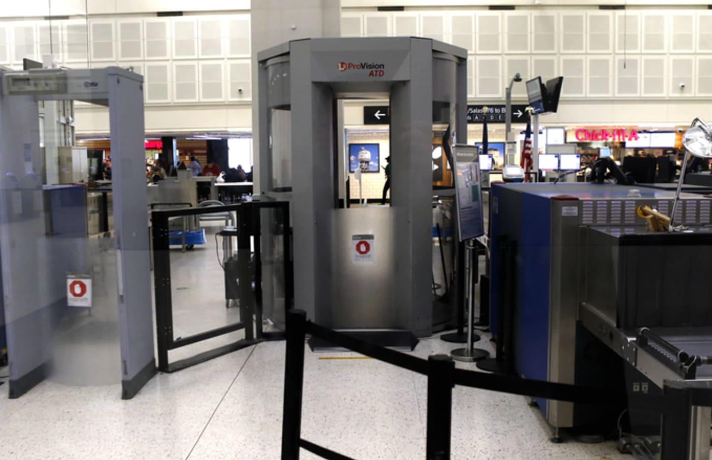 tsa airport scanner