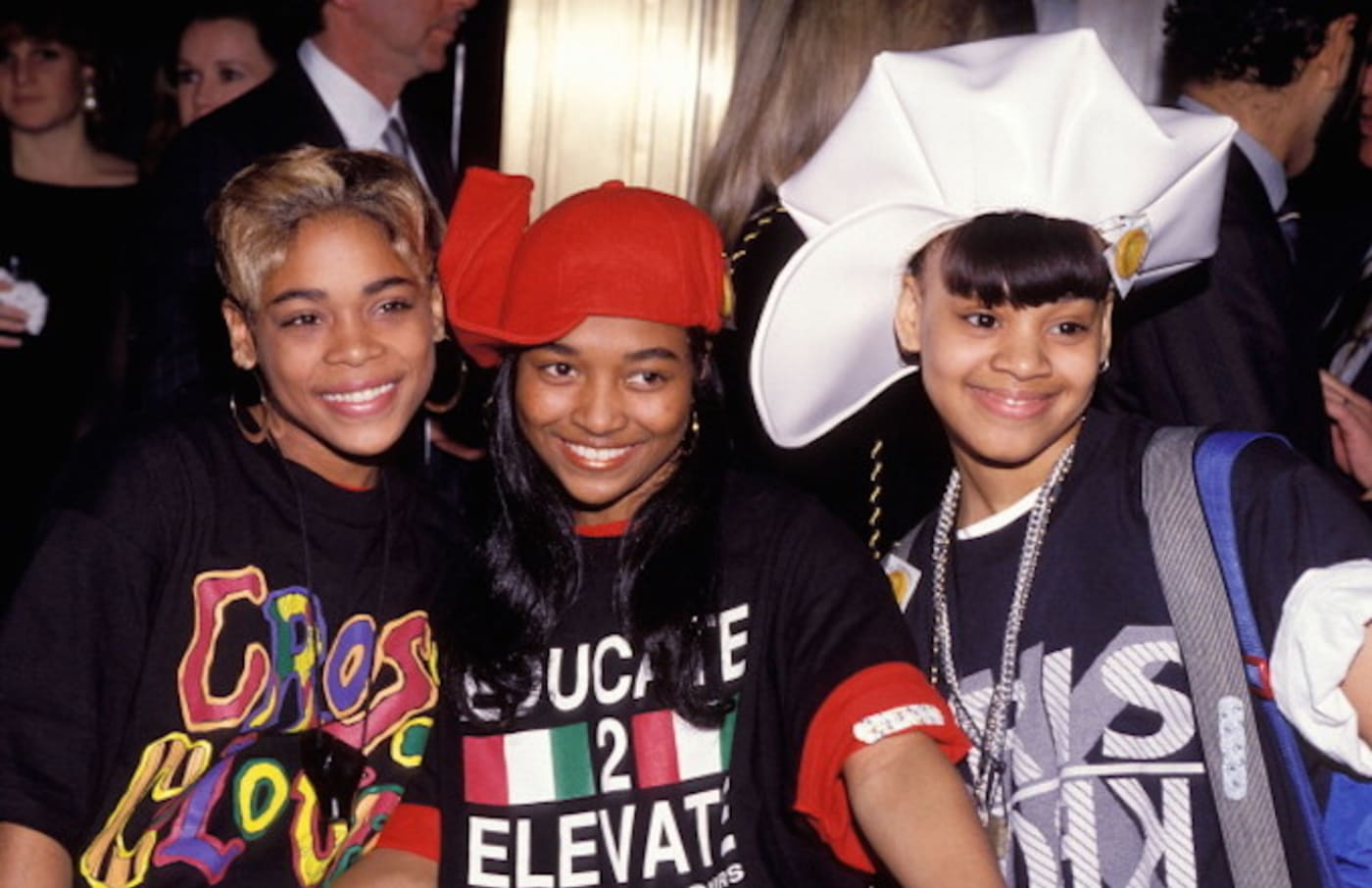 TLC during Lisa 'Left Eye' Lopes of TLC Killed in Car Accident in Honduras