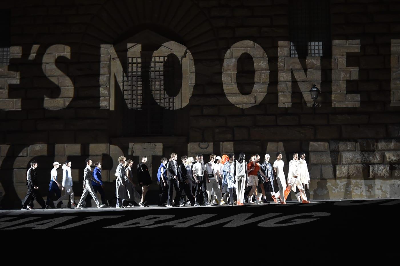 Off White Pitti Uomo fashion show