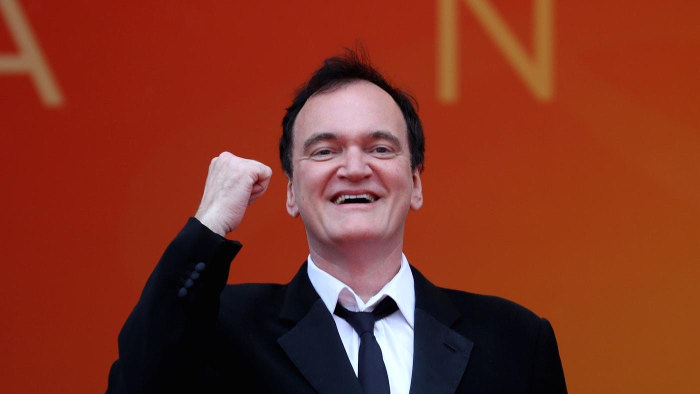 US film director Quentin Tarantino