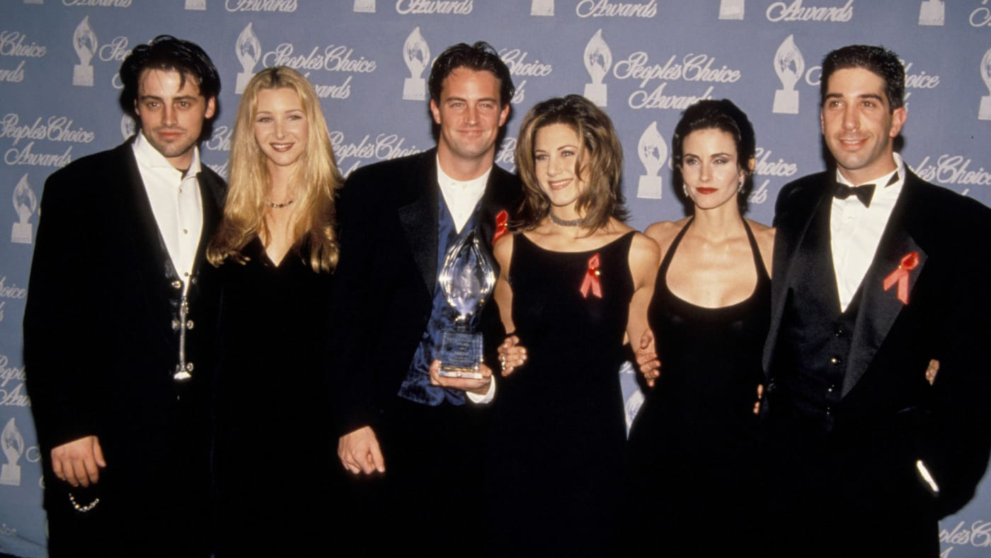 "Cast of ""Friends."""