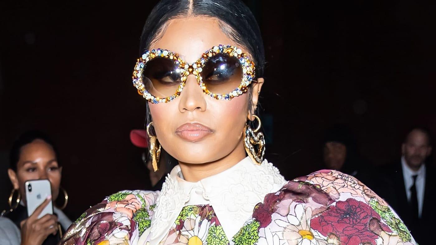 Nicki Minaj seen in New York in 2020