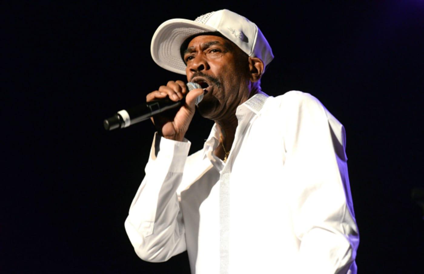 Rapper Kurtis Blow performs onstage