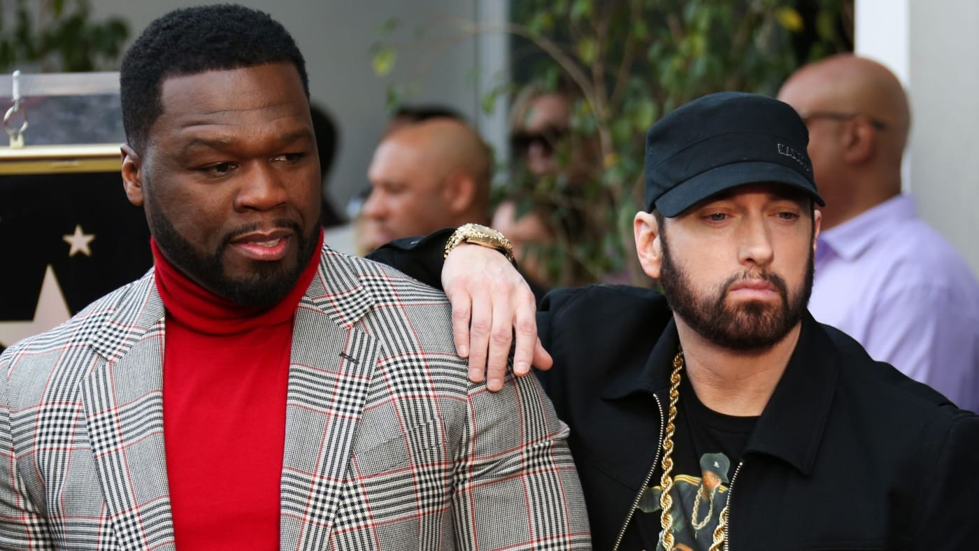 50 Cent Reacts to Eminem Paying Homage to Rap Greats on 'King's Disease II'   Complex