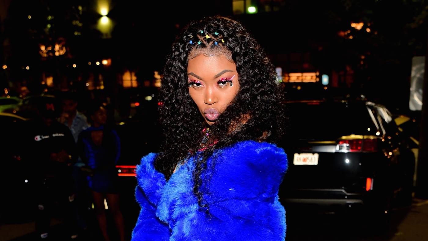Rapper Asian Doll attends Swisher Sweets artist Project Atlanta