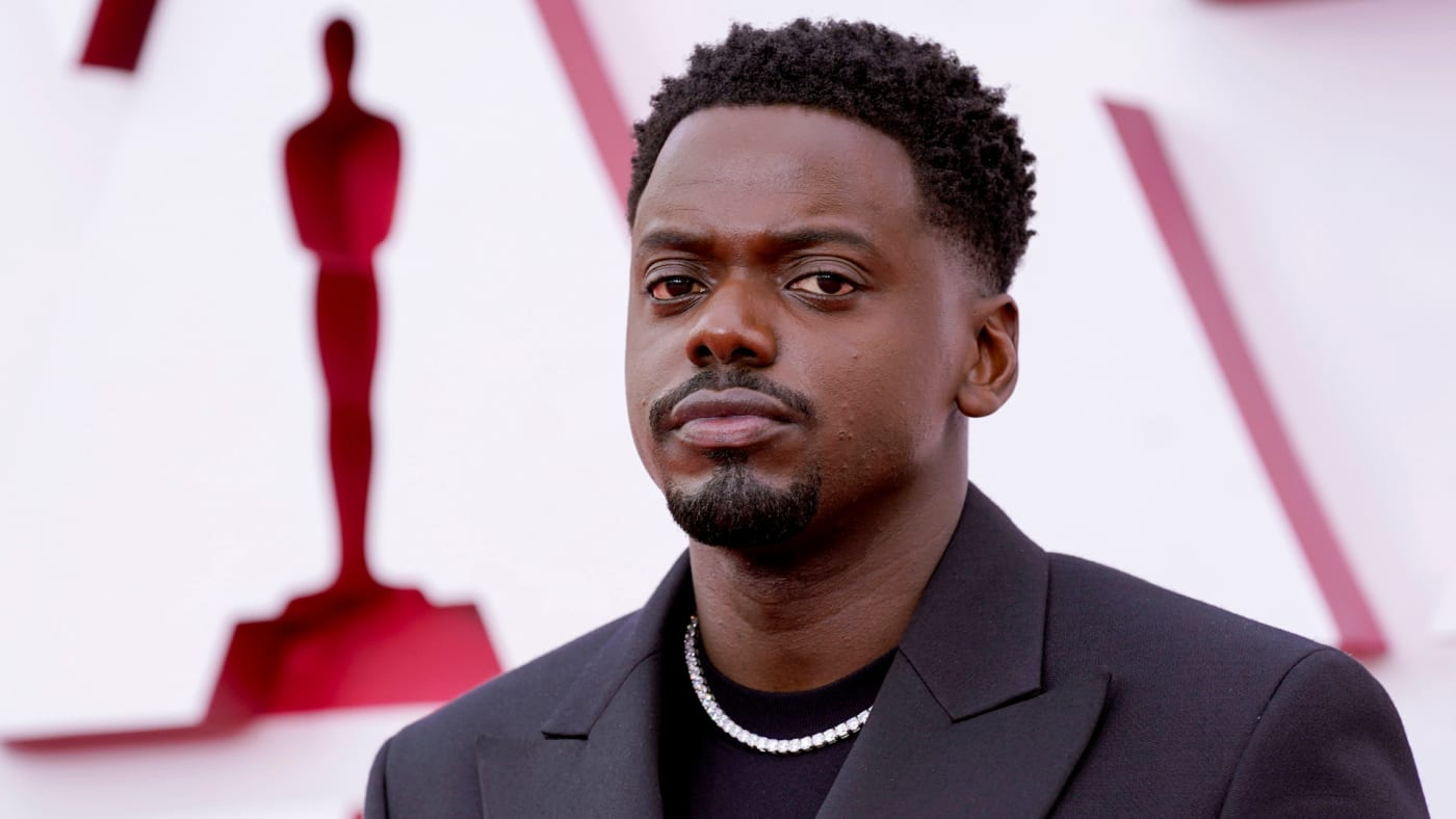 Daniel Kaluuya attends the 93rd Annual Academy Awards.