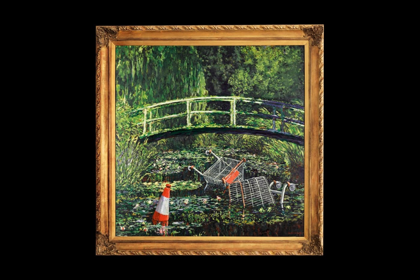 banksy show me the monet painting sothebys october 2020 auction info 1