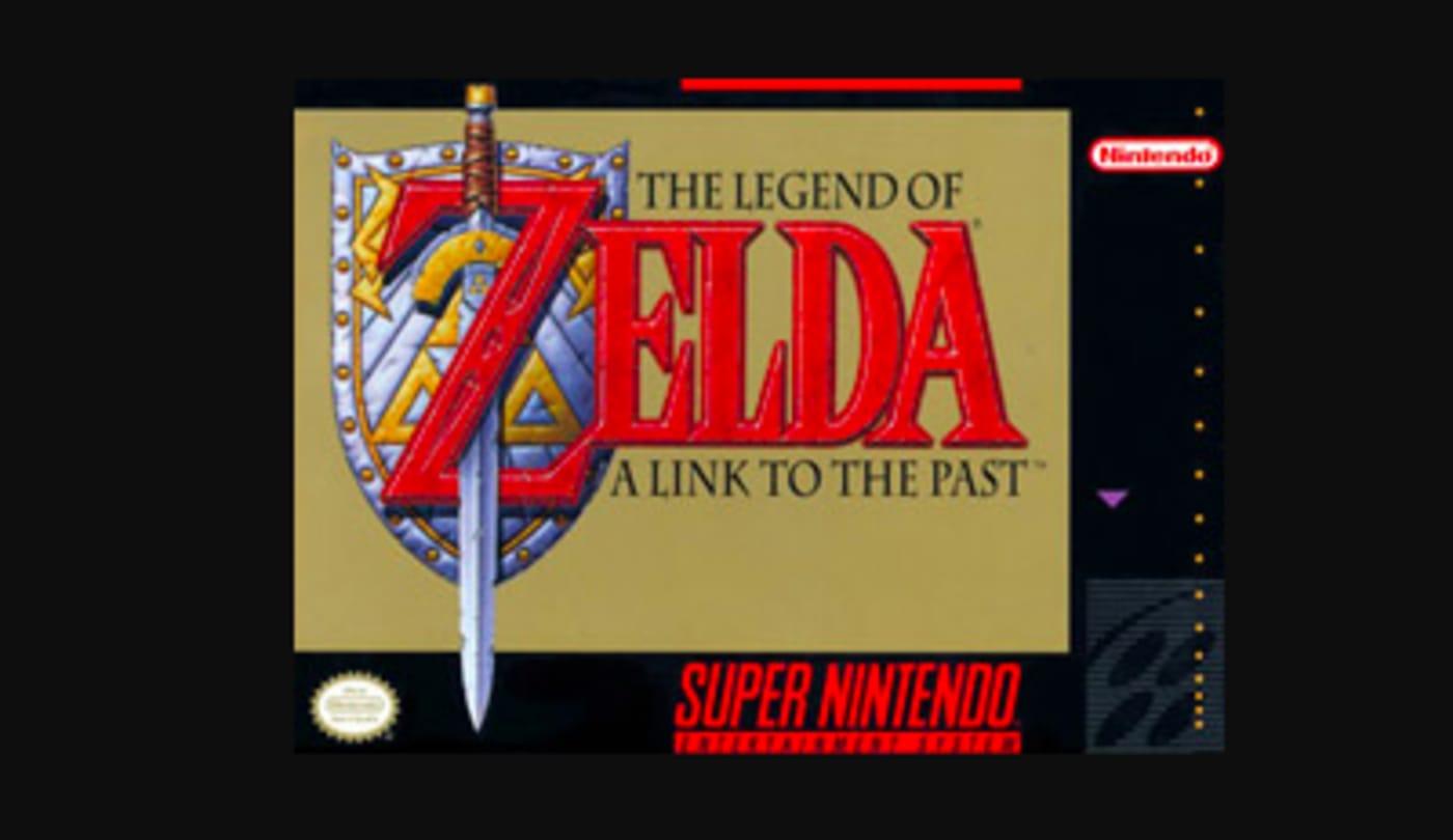 best super nintendo game legend of zelda