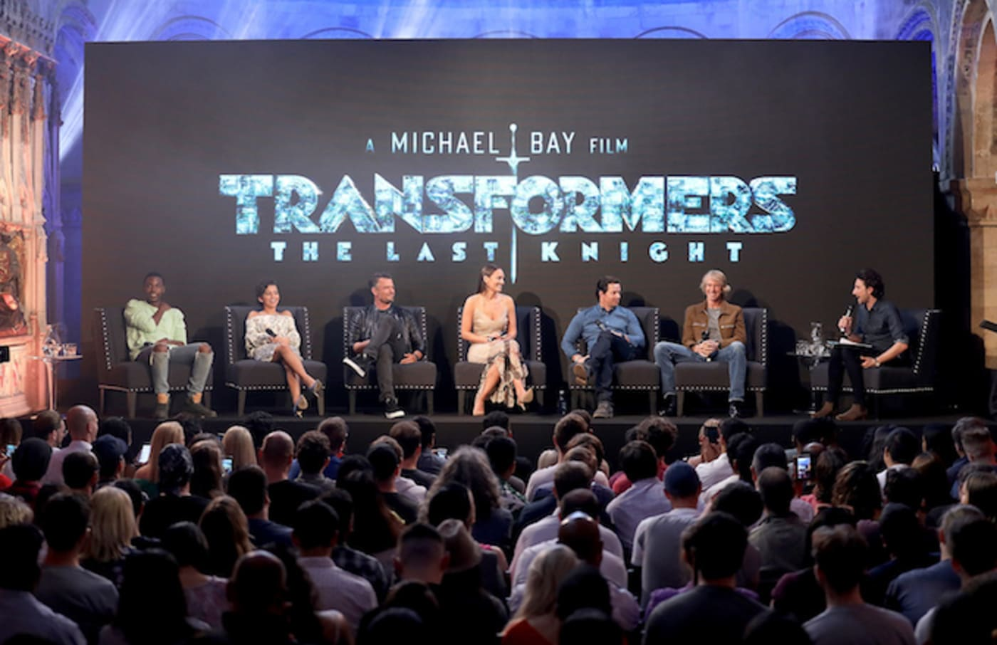 """""""Transformers: The Last Knight"""" cast attend a fan event."""