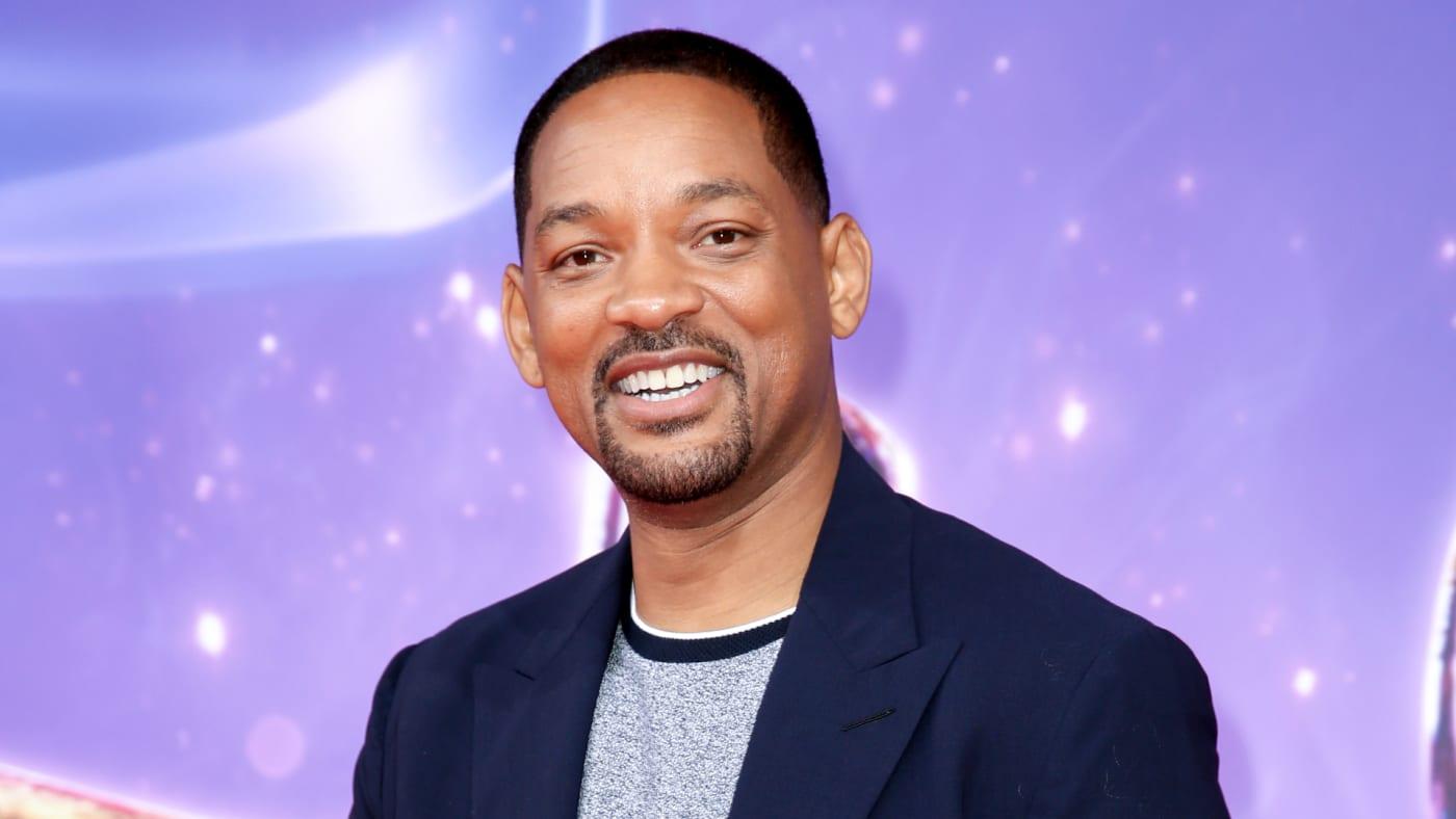 "Will Smith attends the movie premiere of ""Aladdin."""