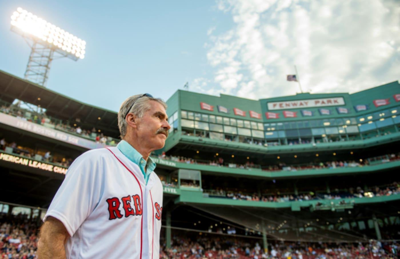 Former Boston Red Sox player Bill Buckner