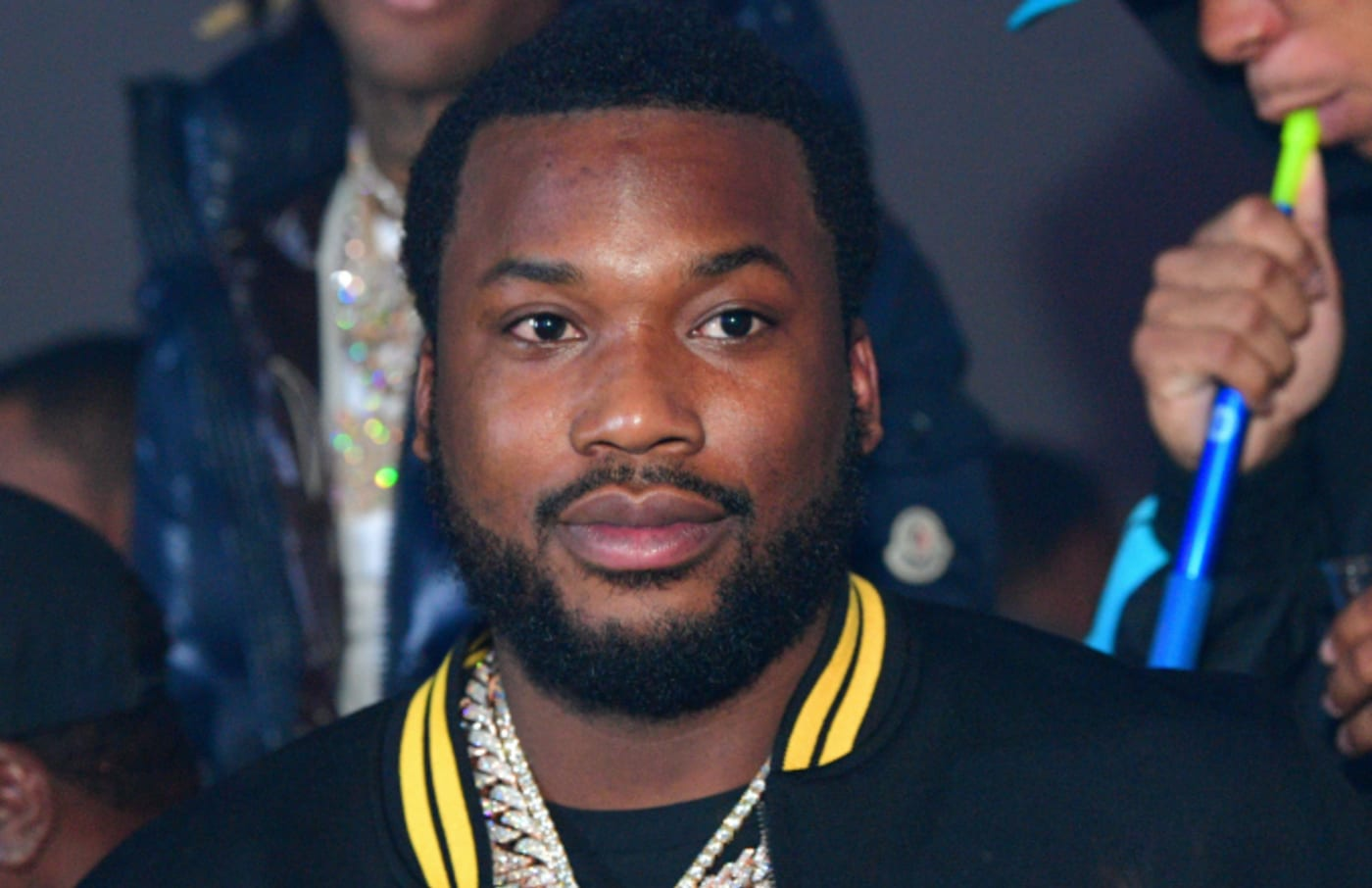 Meek Mill attends Meek Mill 'Championships' album release party