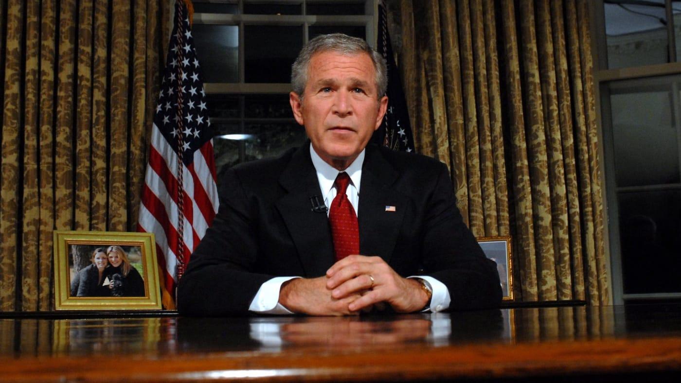 43rd President George W. Bush
