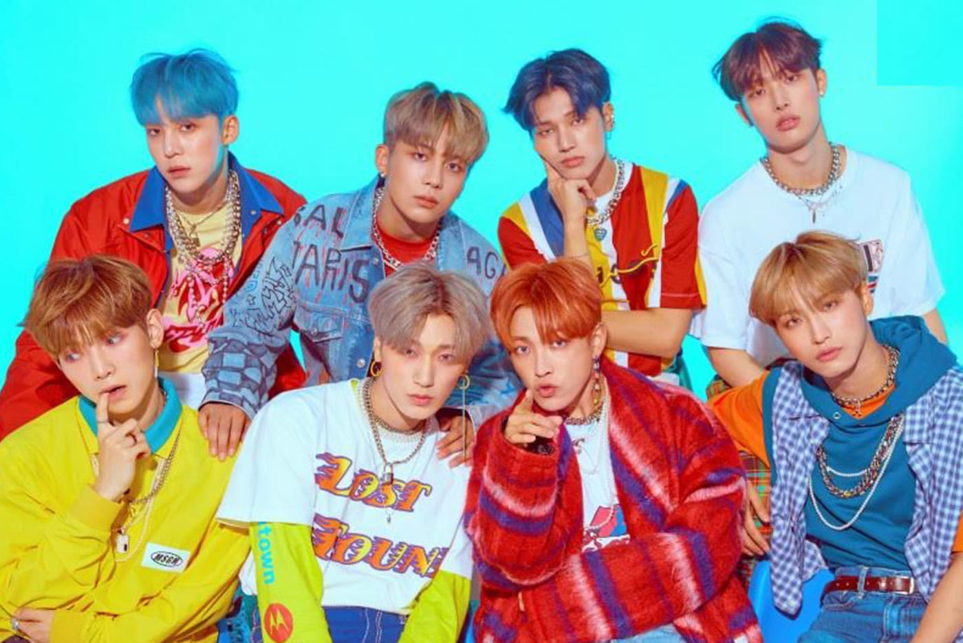 Korean Pop group ATEEZ