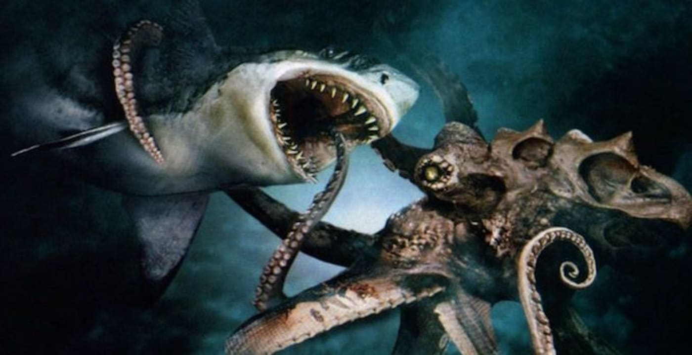 MegaShark vs Giant Octopus