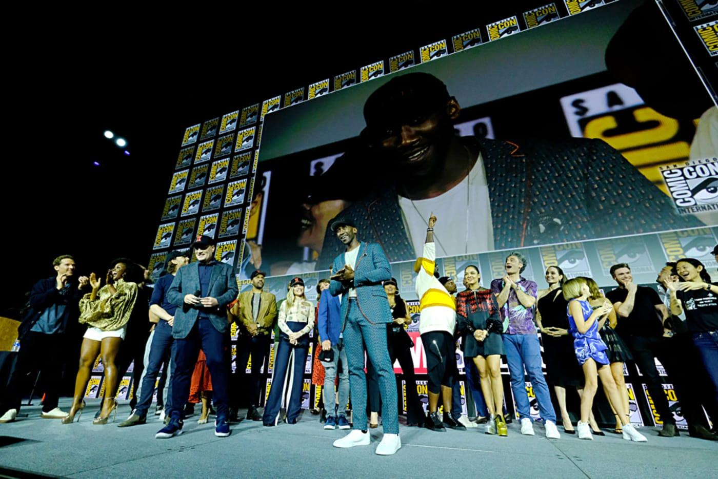 Mahershala Ali at Marvel Studios' Hall H Panel, Comic Con 2019