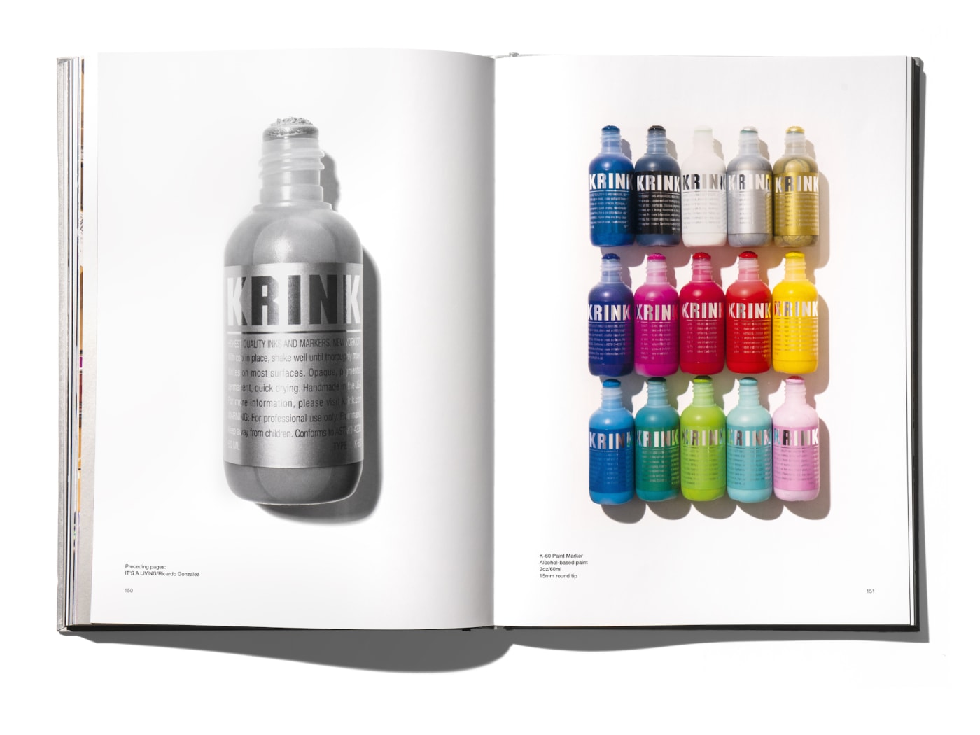Krink Rizzoli Book K60 Markers