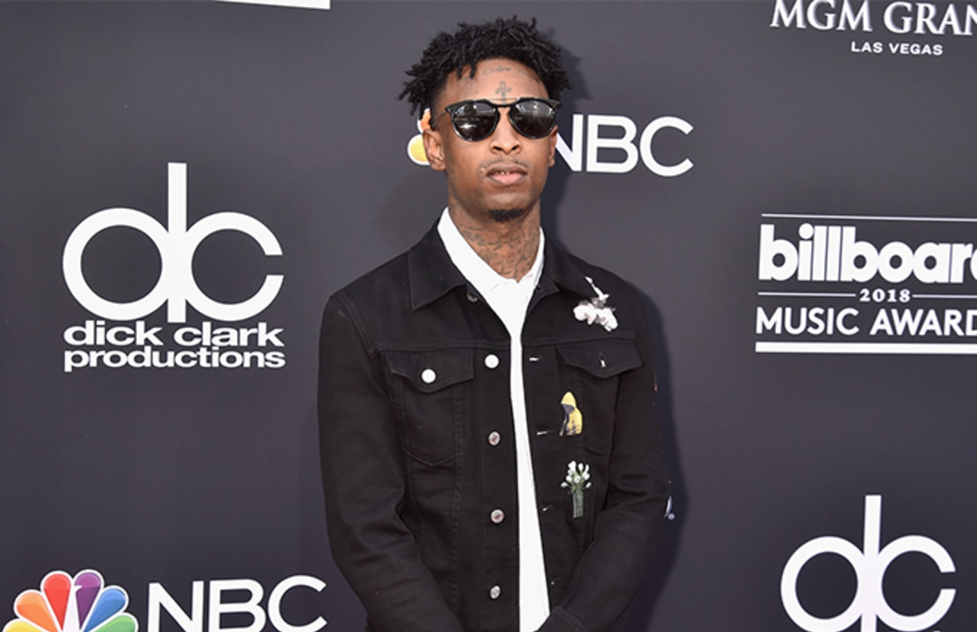 This is a photo of 21 Savage.