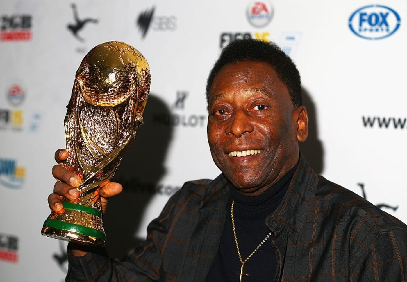 Pelé (credit: Robert Cianflone / Getty Images)
