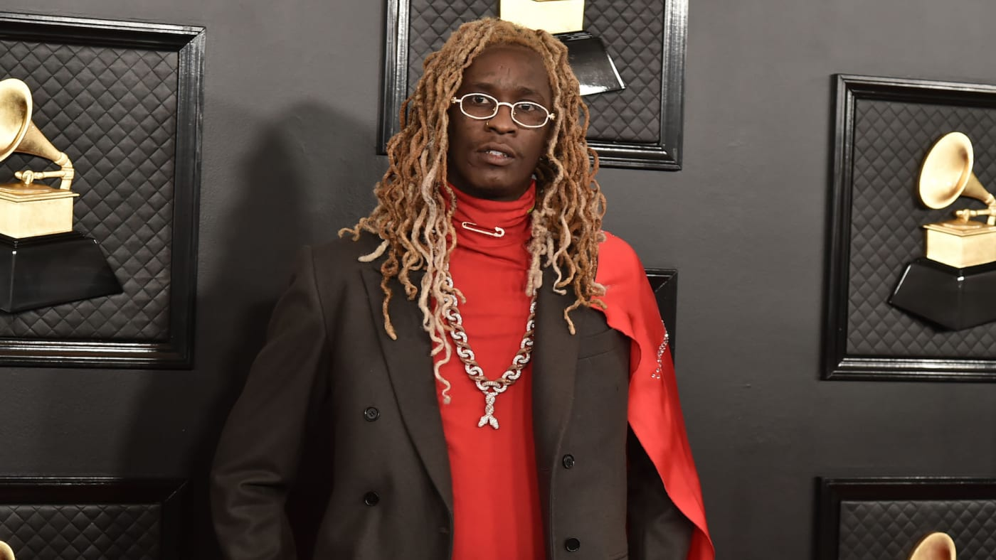 Young Thug attends the 62nd Annual Grammy Awards at Staples Center