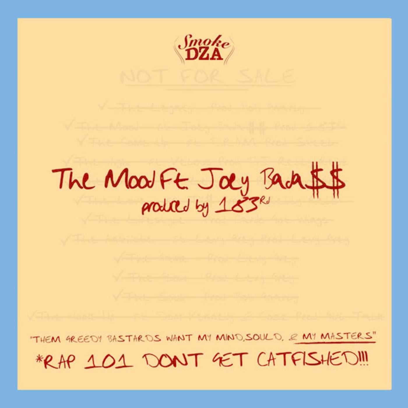 DZA Joey The Mood