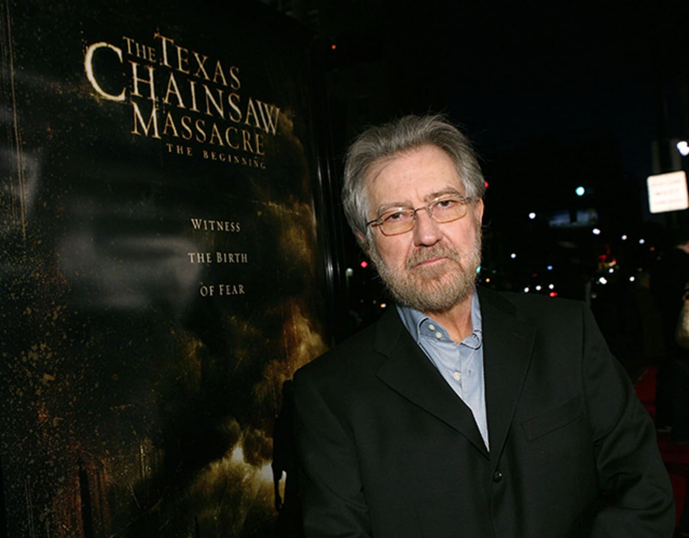 Tobe Hopper at premiere of 'Texas Chainsaw Massacre: The Beginning'