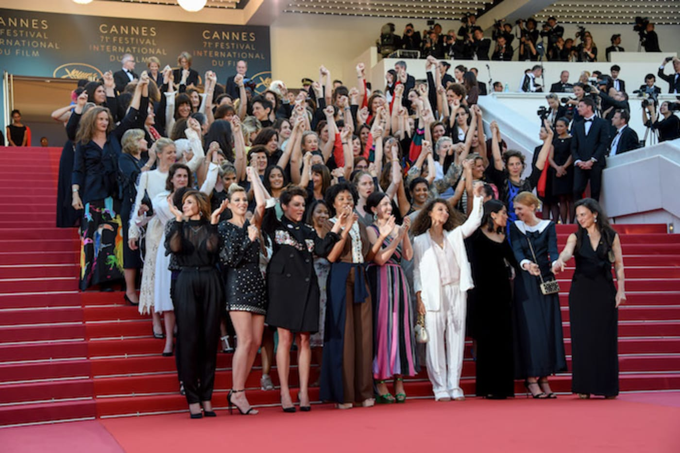 Protest at Cannes Film Festival