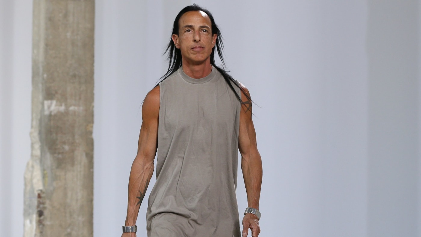 Rick Owens at Paris Fashion Week