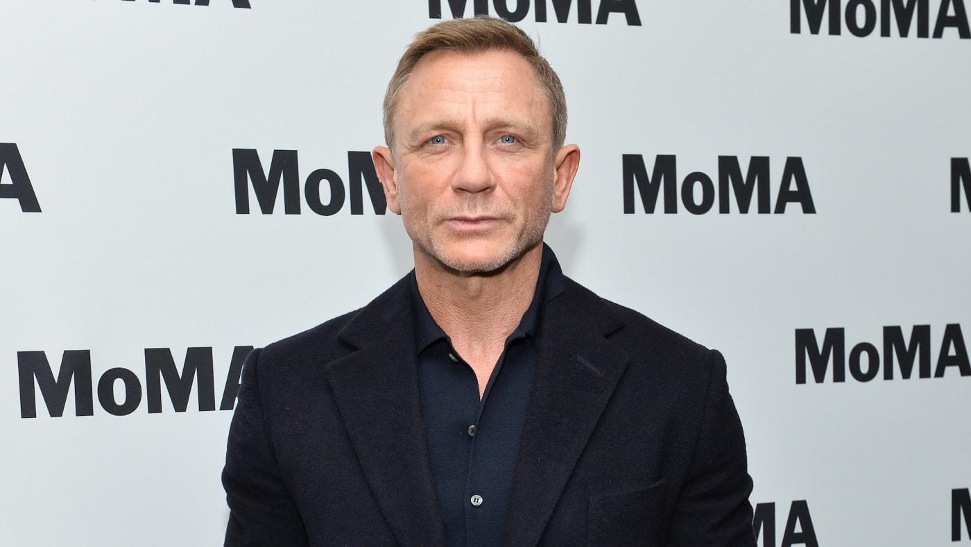 Daniel Craig at MoMA in New York City