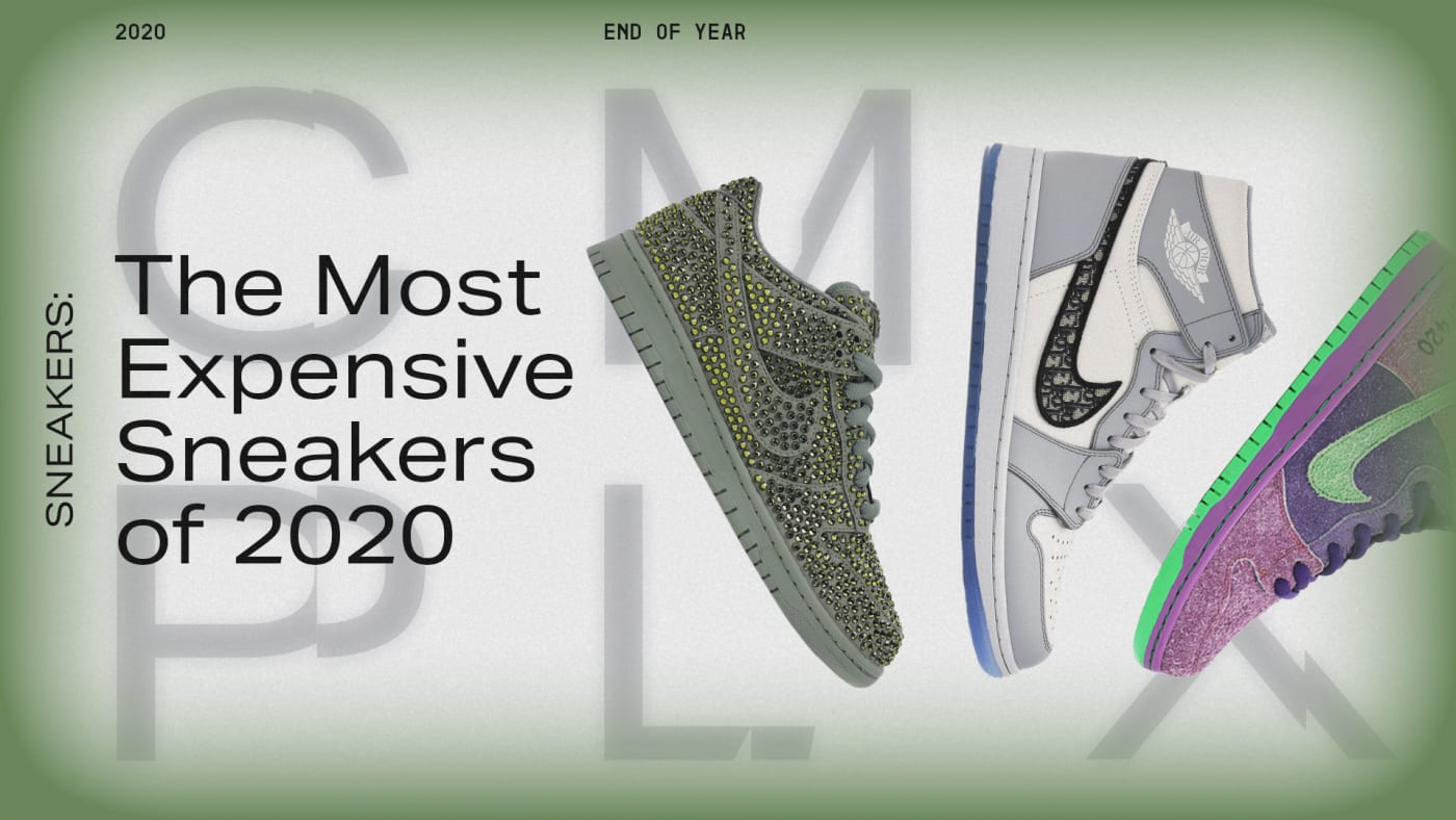 Most Expensive Sneakers 2020